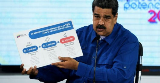 Severance pay in Venezuela now buys a cup of coffee