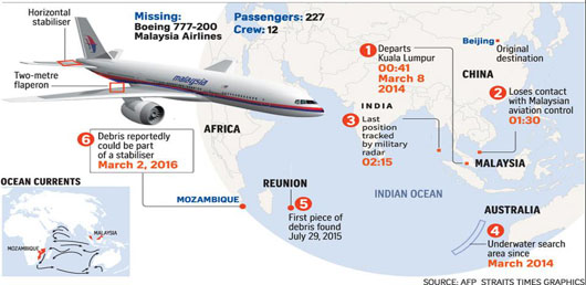 Search ends, mystery of Malaysian Air Flight MH370 lives on