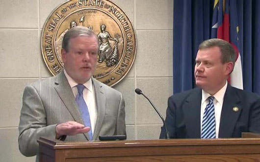 NC's GOP-dominated legislature forbids budget dissent from Democrats, including governor