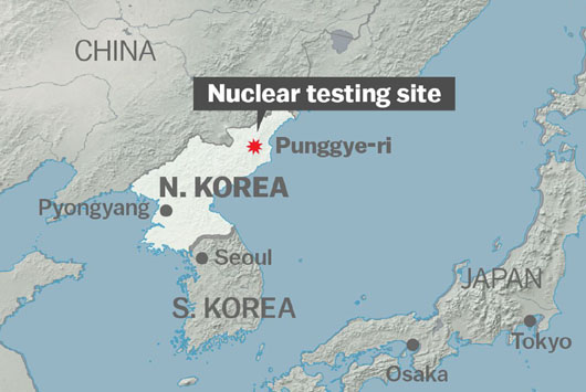 North Korean state media announce dismantlement of nuclear test site