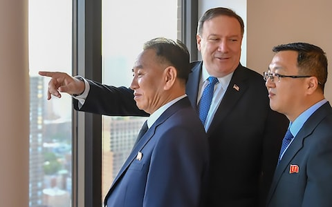 'Looking for something historic': Pompeo has 3rd sit-down with top N. Korean, this time in NY
