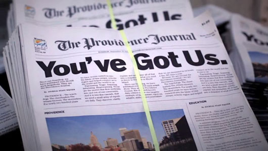 Newspapers increasingly on life support, and hedge funds are paying the bills