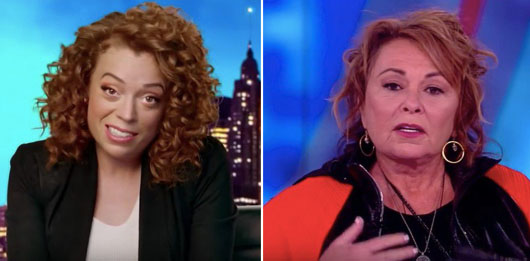 Roseanne Barr shares her three rules of comedy with Michelle Wolf