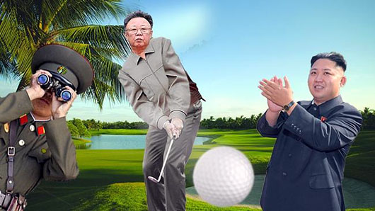 Flashback: N. Korea's Kim Jong-Il shot 38 under par his 1st time out