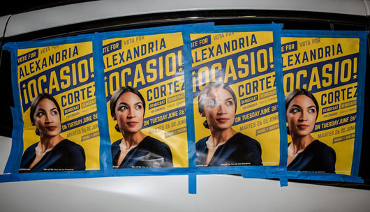 'Face slap for America': Who is Alexandria Ocasio-Cortez?