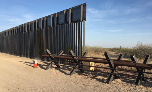Report: Border region exploited by ISIS finally gets a wall