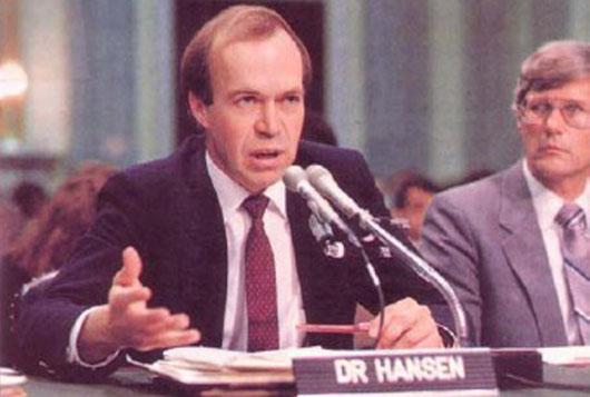 30 years ago, James Hansen lit the 'bonfire of greenhouse vanities'
