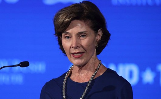 Laura Bush jumps on the anti-Trump, family separation bandwagon