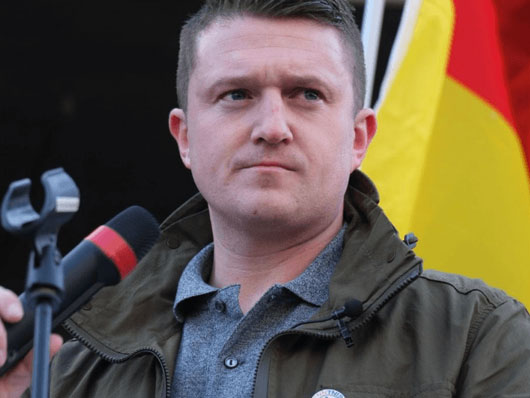 Death threats for Tommy Robinson in heavily-Muslim maximum security prison