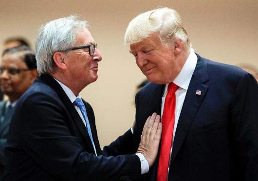 Trump's unpredictable trade tactics rally Europe as China sit-down awaits