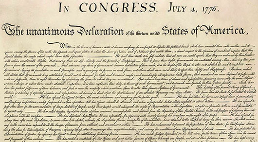 Facebook: Depiction of Native Americans in the Declaration of Independence is hate speech