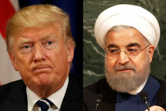 'Never ever threaten' U.S.: Trump warns Rouhani, Pompeo boosts Iranian people