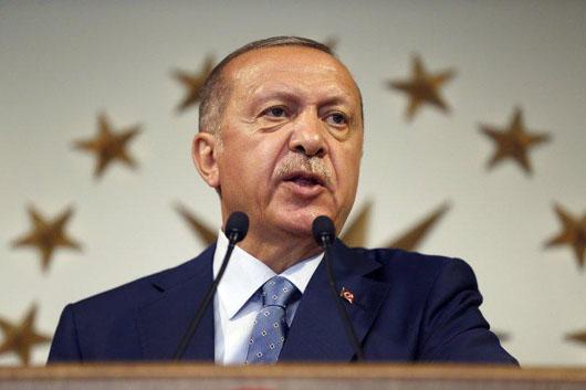 Turkish university graduates arrested for displaying cartoon of Erdogan