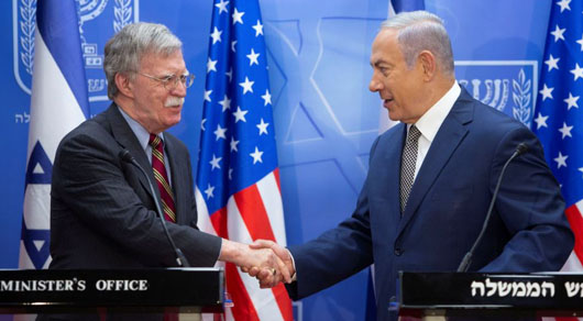 Bolton in Mideast: Iran one of four powers taking aim at U.S. elections