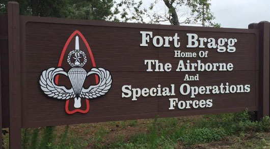 Non-military brouhaha roils Ft. Bragg: Ruckus over same sex couple threatens careers