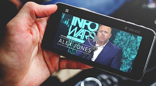 Alex Jones: 5.6 million new subscribers following big tech purge
