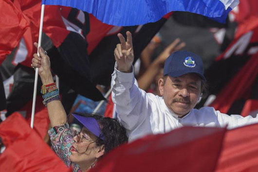 Analysts: Nicaragua's Ortega using Venezuelan tactics to suppress opposition