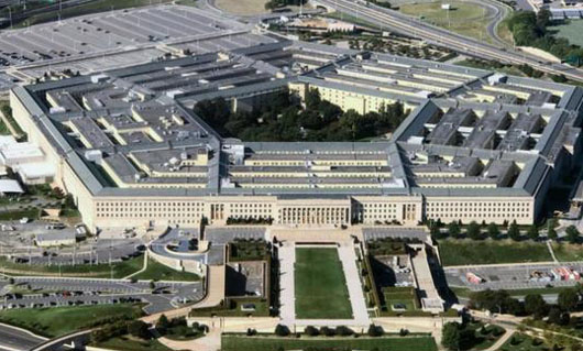 Memo revoking Pentagon official's clearance over Halper contracts was 100 percent redacted