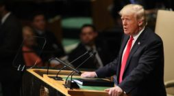 President Trump tells UN the United States is back and champions each nation's sovereignty