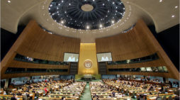 UN session opening contrasts with last year's N. Korean crisis