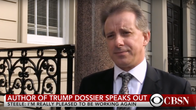 Christopher Steele flunked the FBI's 'Human Source Validation' test