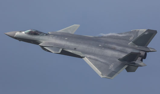 Report: China set to mass produce J-20 stealth fighter
