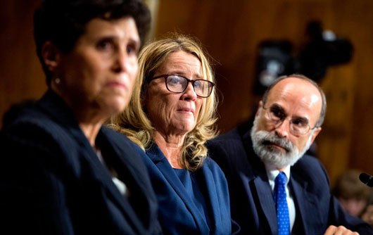 In testimony, Christine Blasey Ford displayed unfamiliarity with her narrative