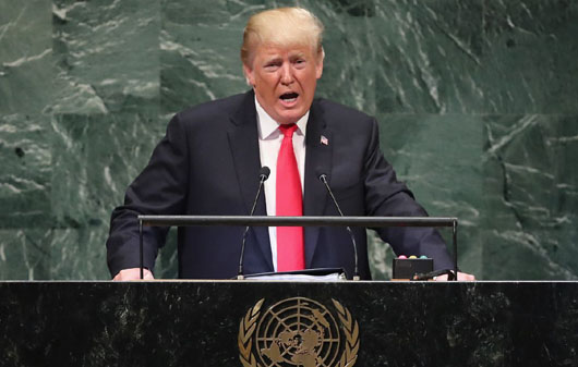 Bull in the 'China' shop: Trump at UN slams globalists and 'discredited ideology'