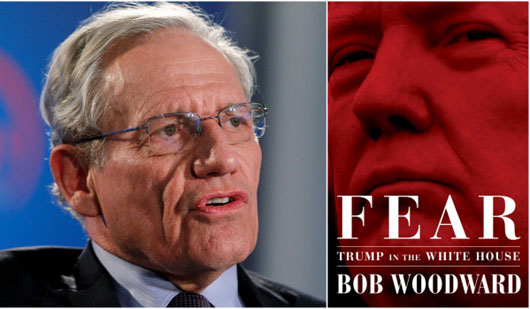 President Trump has a 52-part response to 'Mortuary Bob' Woodward's new book