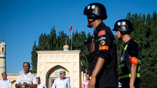 'Like vocational training': China explains its re-education camps for Xinjiang Muslims
