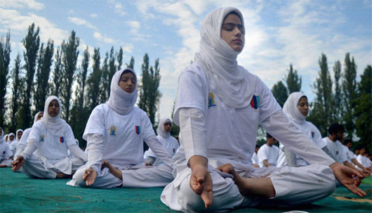 Yoga now tolerated in new 'open' Saudi Arabia