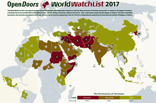 Pastor Brunson is free but persecution of Christians continues to rise, unchecked