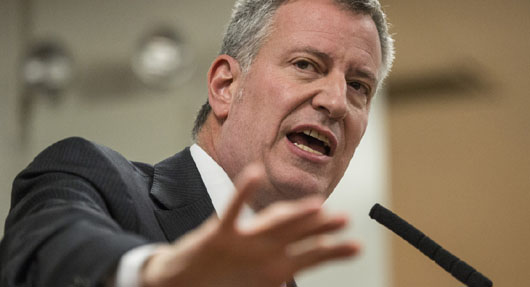 New York mayor rebuffs homeless activist who confronted him during workout