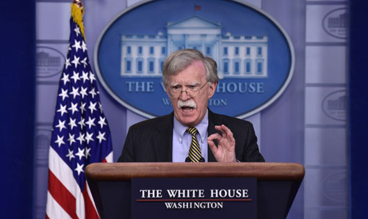 Bolton calls radical Islam 'top transnational terrorist threat,' demands full stop to Iran energy exports