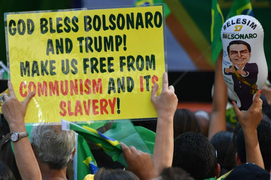 'Go to Cuba': Fans of Brazil's new leader offer advice to socialists' sore losers