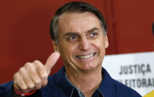 Revolution: 'Trump of the Tropics' wins in Brazil: Opponent vows resistance