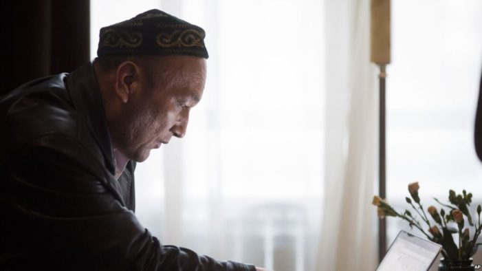 Kazakh man says Father one of millions in China's reeducation camps in Xinjiang