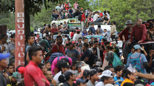 Trump warns he will cut aid to Central American nations over caravan