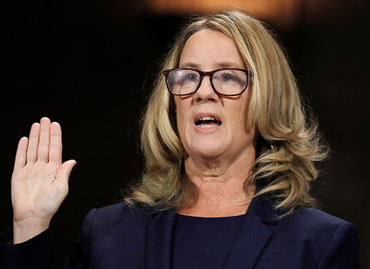 UNC prof nominates Christine Blasey Ford for distinguished alumna award