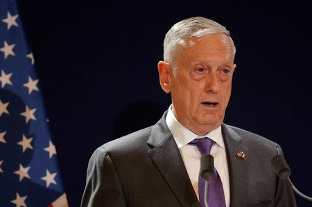 Mattis holds forth on what it means to be a man after Pittsburgh shooting