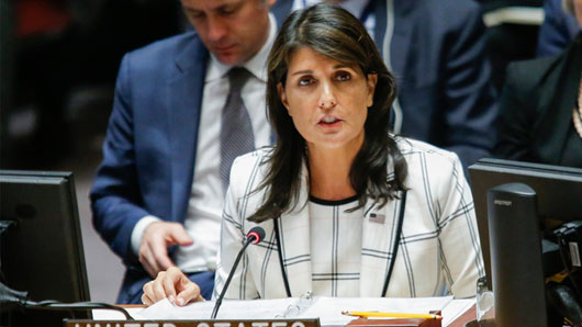 Rising star Amb. Nikki Haley to leave UN post, has 'bright future'