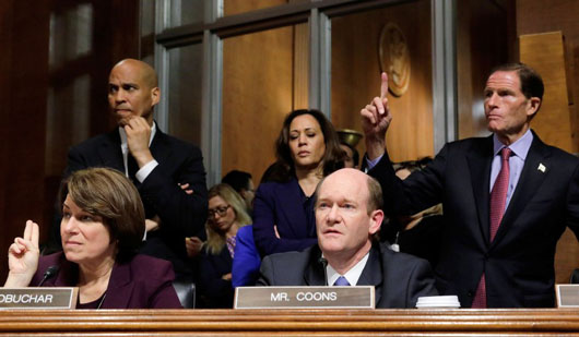 Radical connections of senior Democrats call into question their security clearances