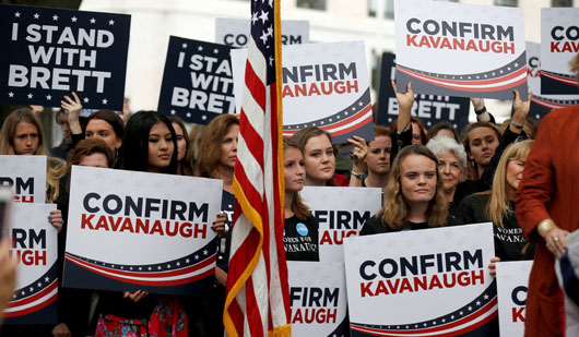 GOP reports spike in donations, volunteers after Kavanaugh drama