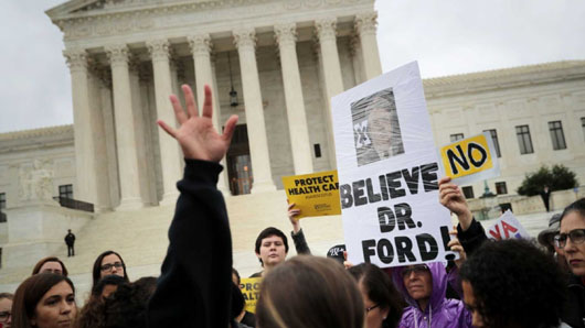 As Kavanaugh joins Supreme Court, campaign to destroy him comes under scrutiny