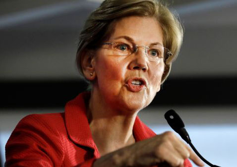 Be warned, America: Elizabeth Warren is surging in the polls