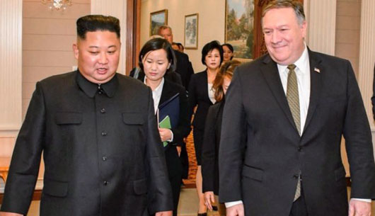 'One' step forward: Pompeo visits Pyongyang on heels of Pence address slamming Beijing