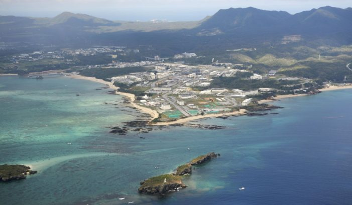 U.S. has far more troops in Japan than Korea; Okinawa governor rejects new Marine air base