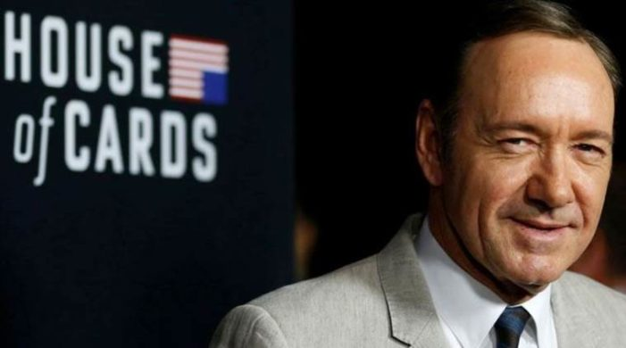 Vanishing act: Kevin Spacey said living large, at large
