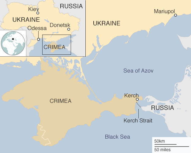 Putin probes Ukraine's sea lanes, sovereignty
