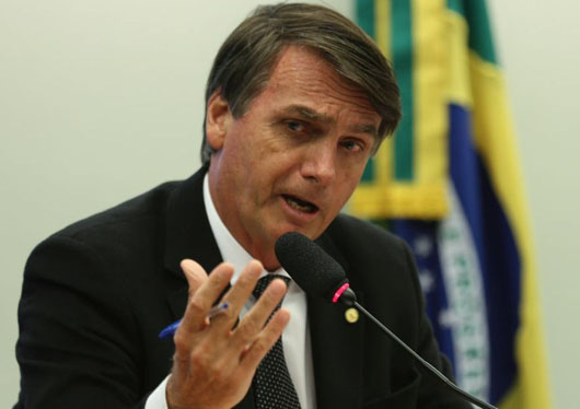 Bolsonaro says he'll move Brazil's embassy in Israel to Jerusalem